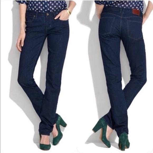 Madewell Denim - Madewell jeans Rail Straight NWT